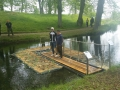 Fiske och jaktplattform